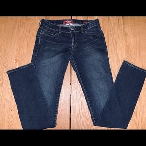 Lucky Brand 4/27 Low Lola Straight Jeans